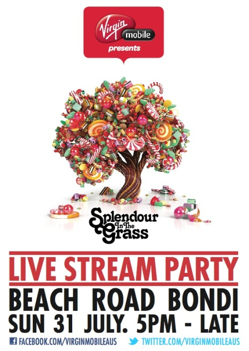 Splendour Live Stream Party
