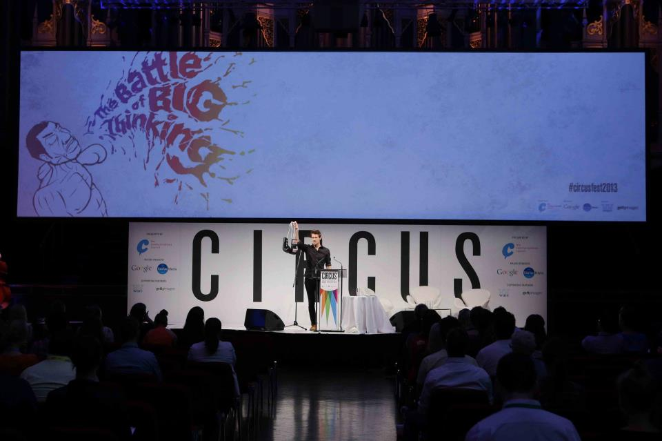 Circus 2013 sees The Battle of Big Thinking (1/3)